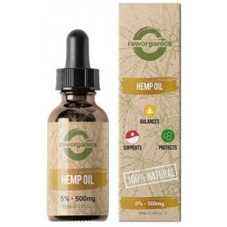 5% CBD - 500 mg - 10 ml - RAW Organics