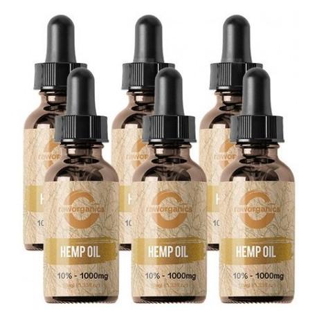 5% CBD - 3.000 mg - 6x10ml - RAW Organics