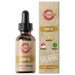 20% CBD - 2.000 mg - 10 ml - RAW Organics