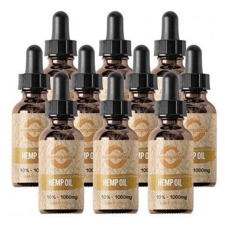 10% CBD - 10.000 mg - 10x10ml - RAW Organics