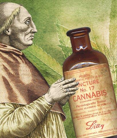 Cannabis CBD Olie i Oldtiden